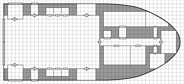 cargo deck with rooms and doors added