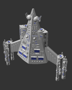 UPF assault carrier model